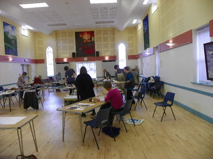 Art Workshop in the Community Centre