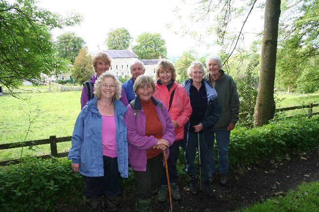Walkers at Threepwood Hall