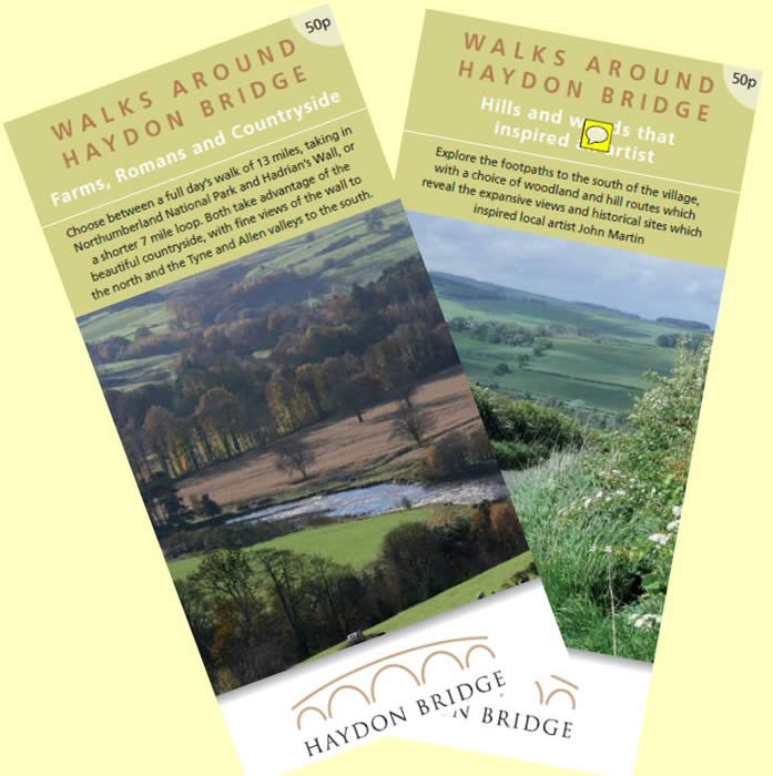 Haydon Bridge Walks Leaflets